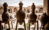 Souk-Szene in Persien